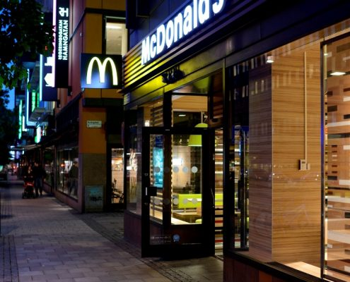 McDonald's omprofilering
