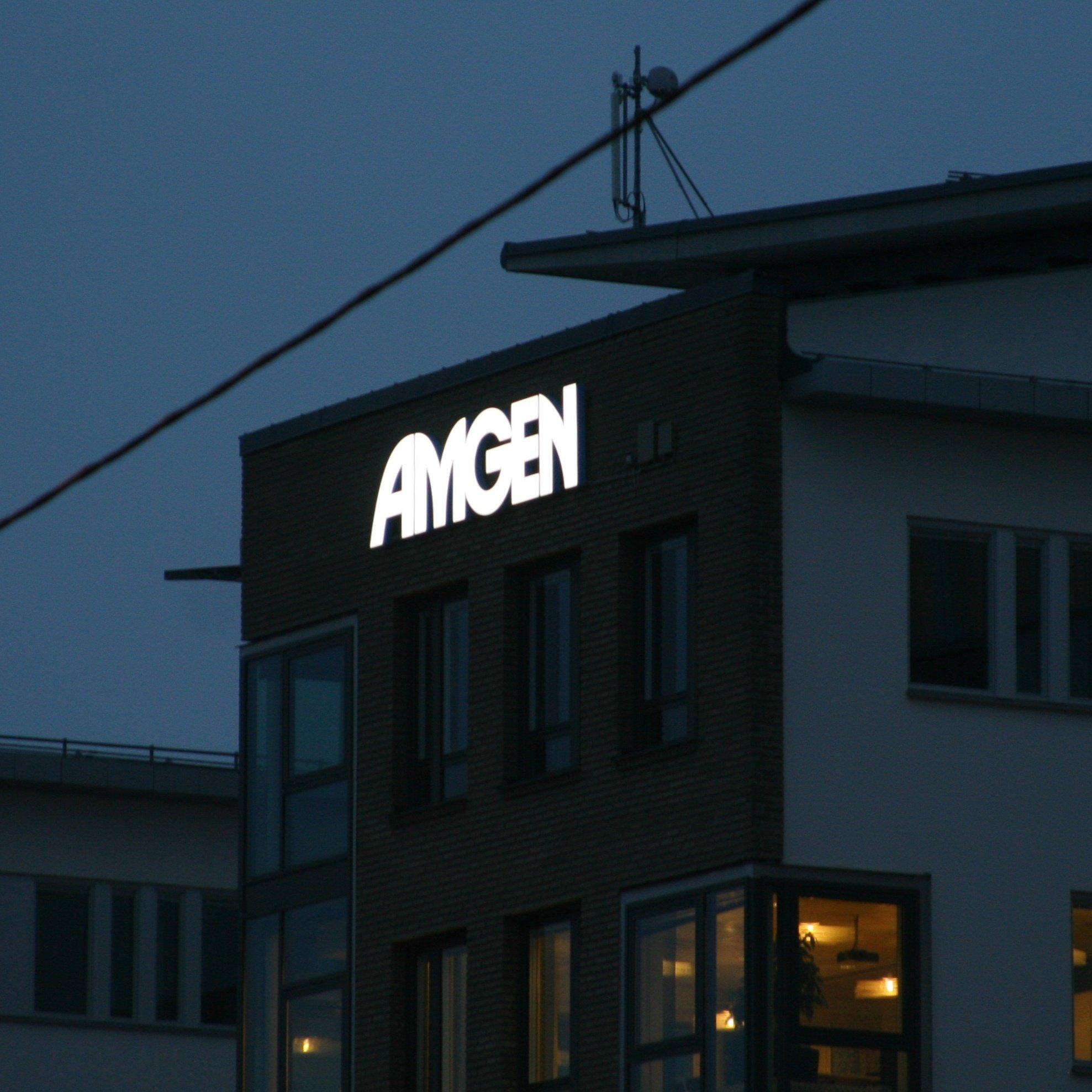 LED-skylt E4an Amgen