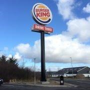stolpskyltar Burger King