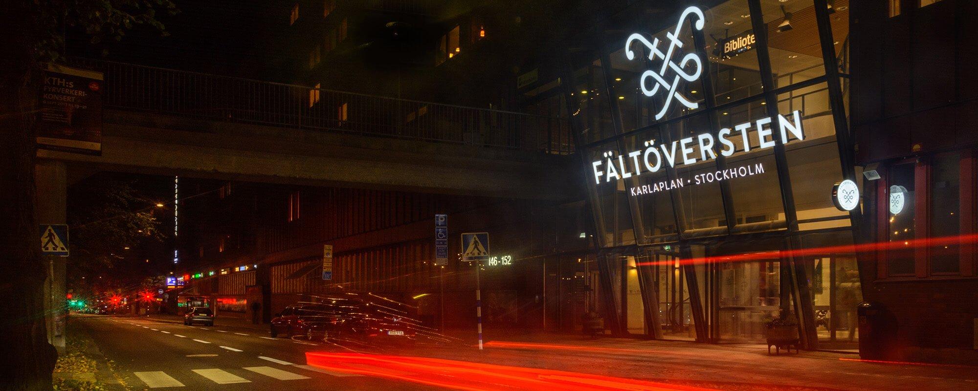 Fältöversten Skyltar skapare i Stockholm | Focus Neon