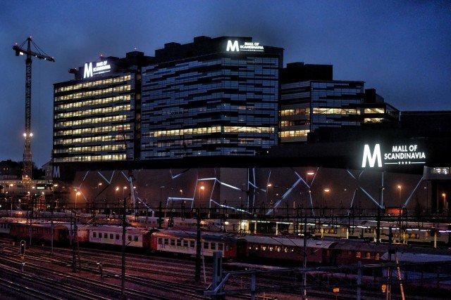 Mall of scandinavia Led skyltar med Focus Neon i Stockholm