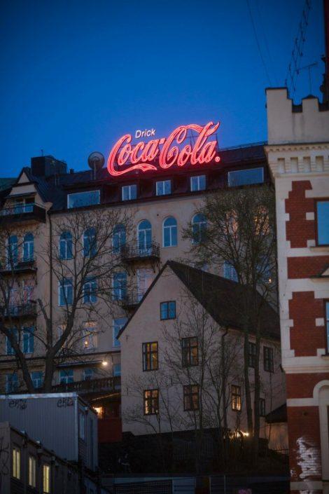 neonliknande led-skyltar med r u00e4tt k u00e4nsla