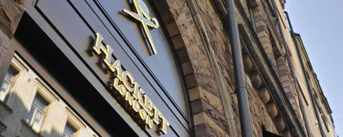 Showroom skyltar tillverkare företag i stockholm | Focus Neon