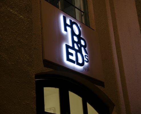Horreds företagsprofilering LED-bokstäver