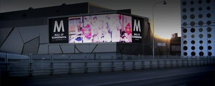Tillverkare av skyltar i Stockholms köpcentrum| Focus Neon