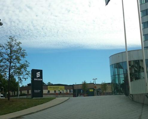 Ericsson HQ pylon